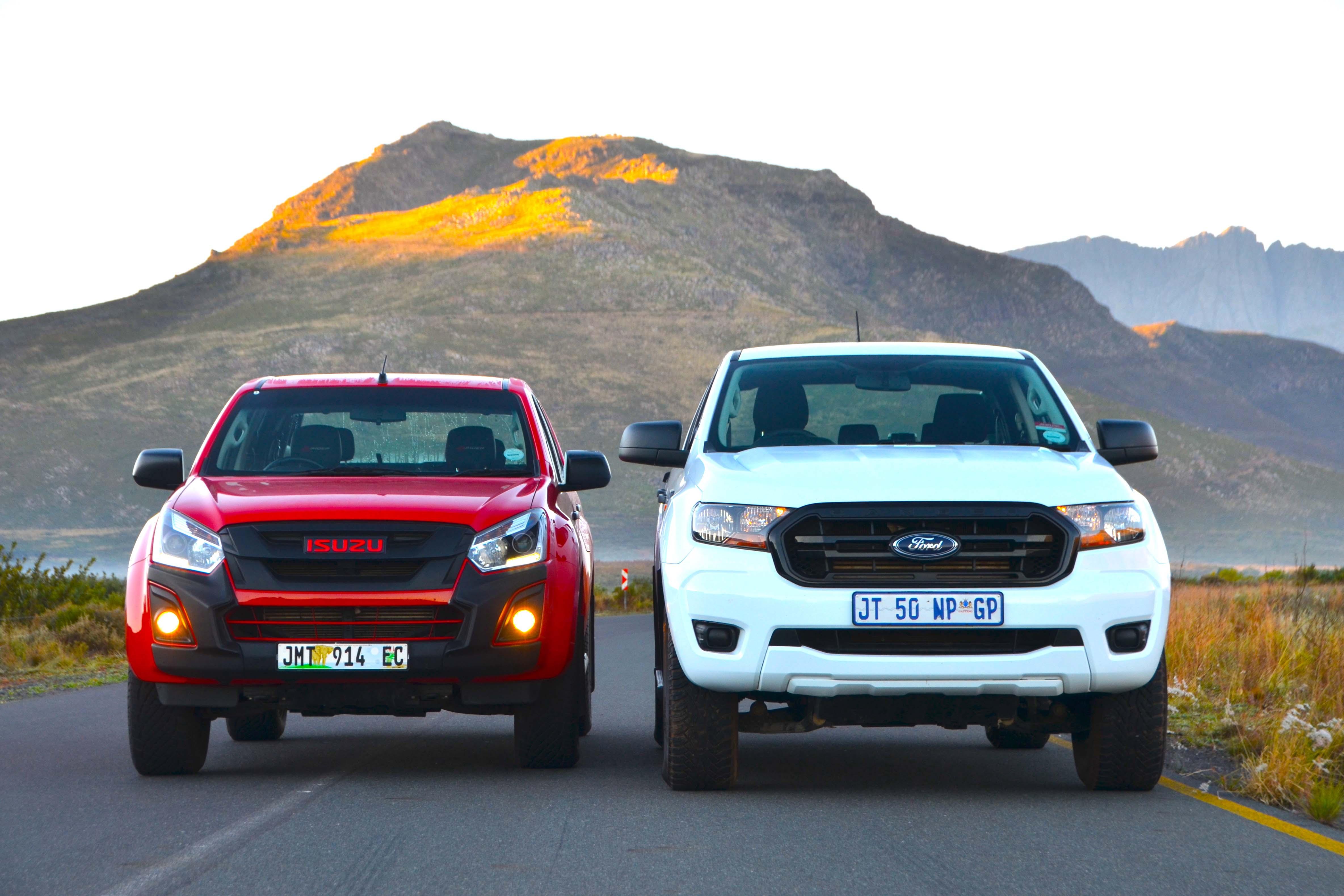 Isuzu D-Max & Ford Ranger