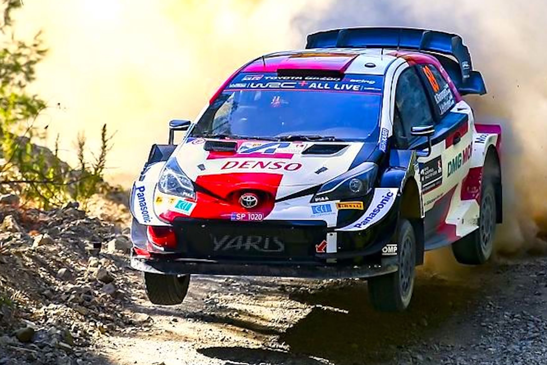 TOYOTA TAKES ACROPOLIS ON A DRAMATIC RACE WEEKEND