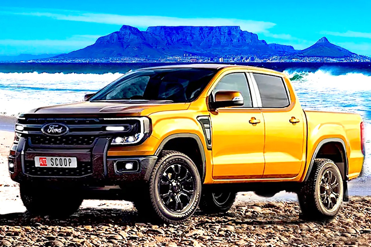 MEET THE NEW FORD RANGER! WELL, KIND OF.