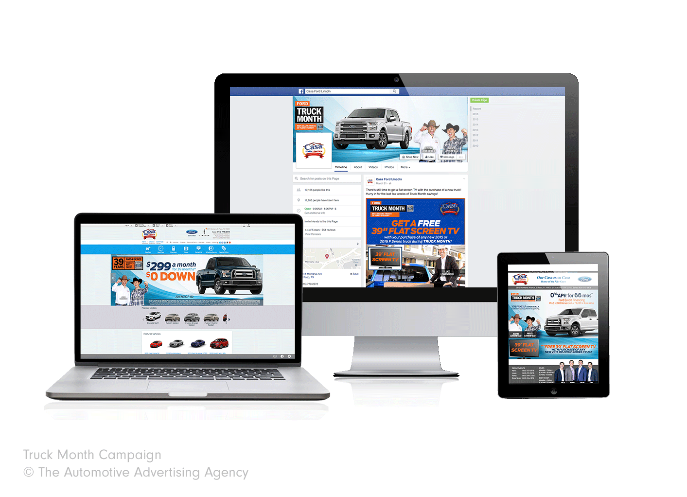 Casa Ford  The Automotive Advertising Agency