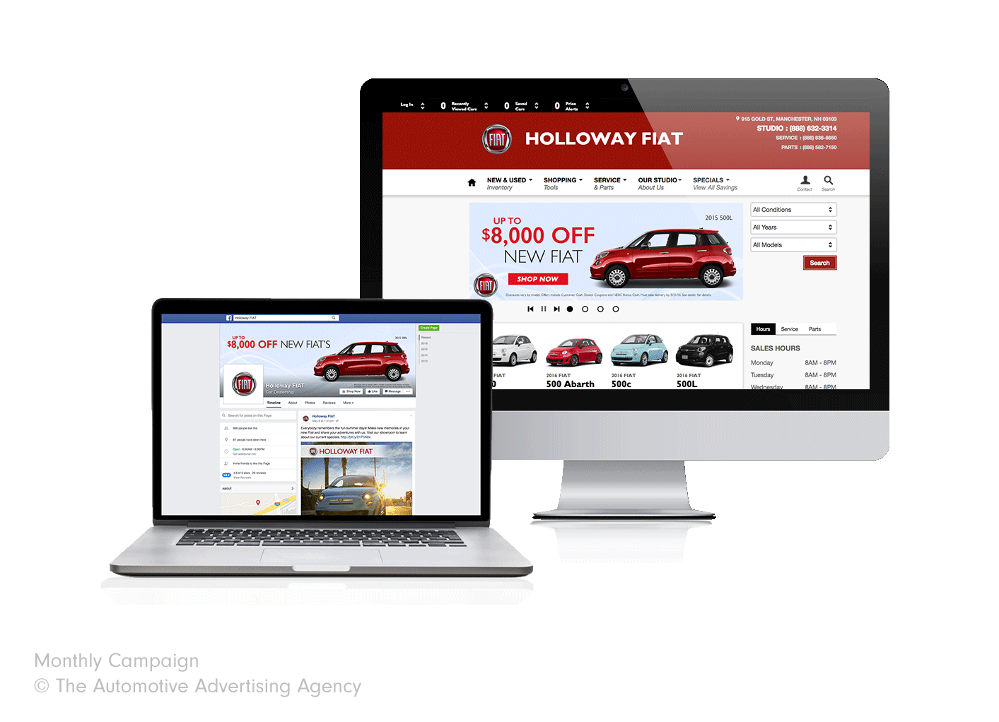 Holloway Fiat  The Automotive Advertising Agency