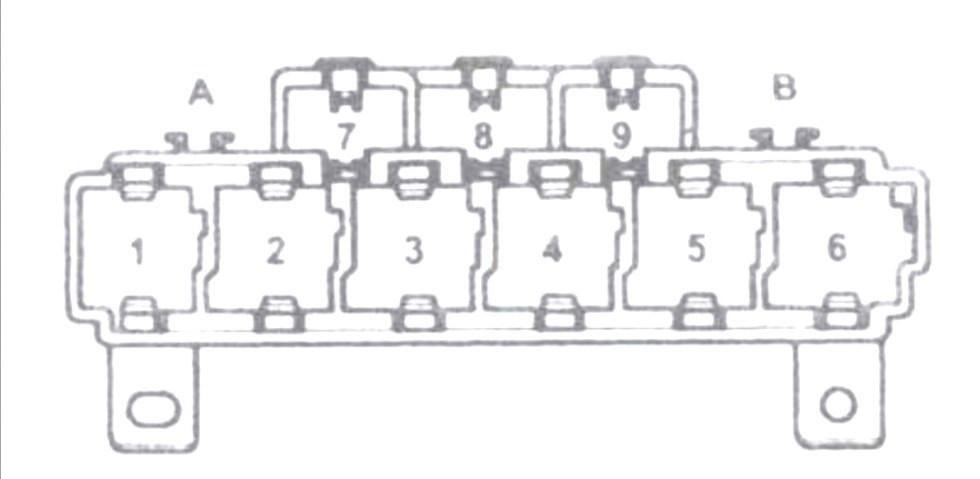 Блок предохранителей и реле №2 Ауди А4 B6