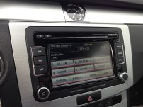 Touchscreen radio with Bluetooth