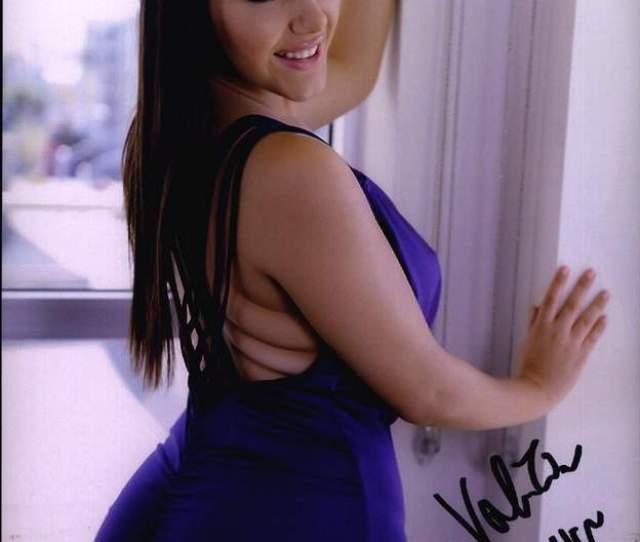 Valentina Nappi Signed Model 8x10 Photo Proof Certificate A0025