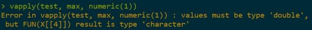 vapply error in r