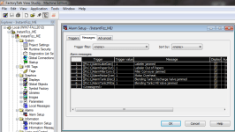 FTVME Edit Alarm Messages in MSExcel Step 1