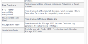 Rockwell Downloads Free Software Listing