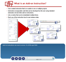 RSLogix 5000 Start Page Videos Section 6 Add Ons