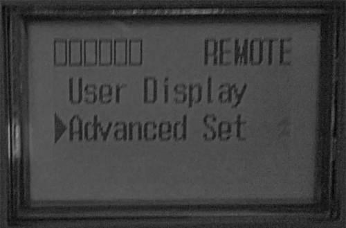 MicroLogix 1400 Main LCD Menu 2