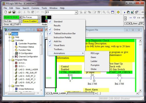RSLogix online animation - hold ctrl and right click