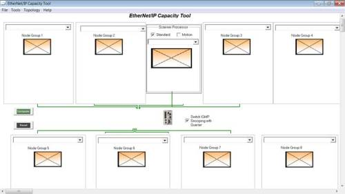 Using the EthernetIP Capacity Tool 2