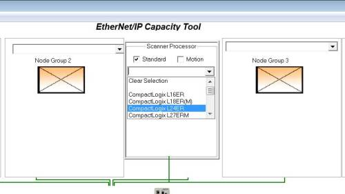 Using the EthernetIP Capacity Tool 3