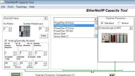 Using the EthernetIP Capacity Tool 8