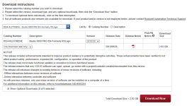 RSLogix 5000 V20.03 Download Notice