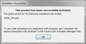 Rockwell Software Grace Period Mode Popup 2