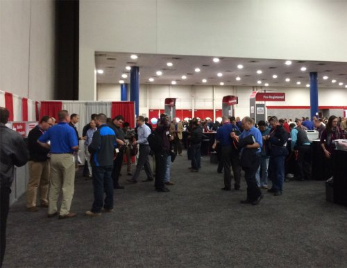 Automation Fair Registration and Badge Pickup