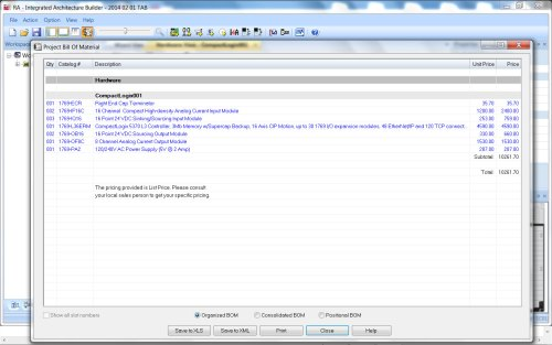 Integrated Architecture Builder Step 12