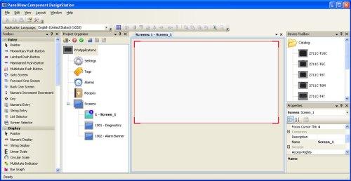 PanelView Component Design Station offline editor