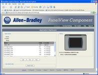 PanelView Component Web Browser Menu