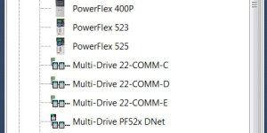 Connected Component Workbench 6.01 PowerFlex Drives Support