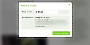 Kickstarter Pledge