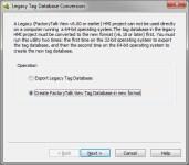 Lagacy-TAG-DB-W7-Create