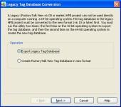 Lagacy-TAG-DB-XP-Export