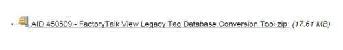Legacy TAB DB Utility Download