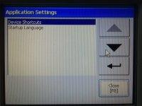 PanelView Plus Application Settings