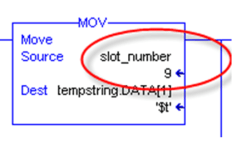 Log to CSV Slot Number