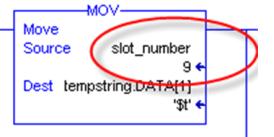 Log to CSV Slot Number