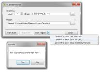 System-Ferret—Scan-Summary-Create-Report