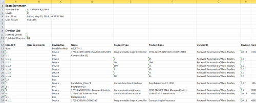 System-Ferret---Scan-Summary-Report-in-Excel