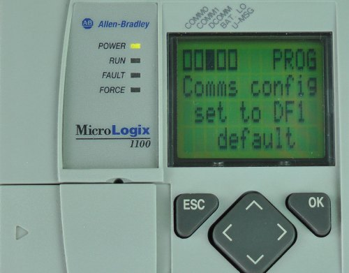 MicroLogix-1100-LCD-DCOMM-Menu-Enable-Message
