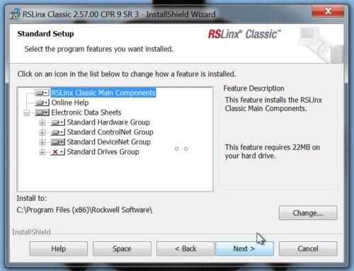RSLinx Classic Setup 1