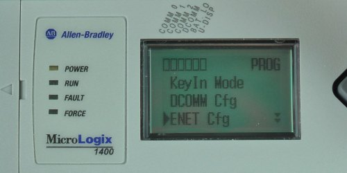 MicroLogix-1400-LCD-Advanced-Menu-ENETcfg-Sel