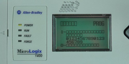 MicroLogix-1400-LCD-IO-Status