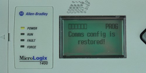 MicroLogix-1400-LCD-DCOMM-Menu-Disable-Conf