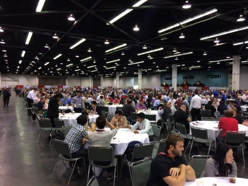 Automation Fair 2014 11 lunch