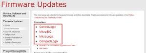 Download A-B PLC Firmware Step 4