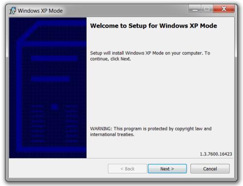 Windows XP Mode 07