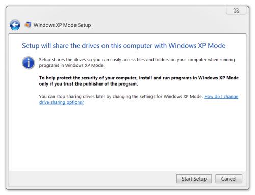 Windows XP Mode 14