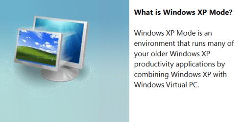 Windows XP Mode 16-Fi