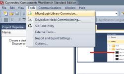 CCW Import MicroLogix Step 1