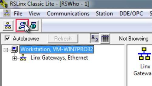 RSLinx-Configure-Comms
