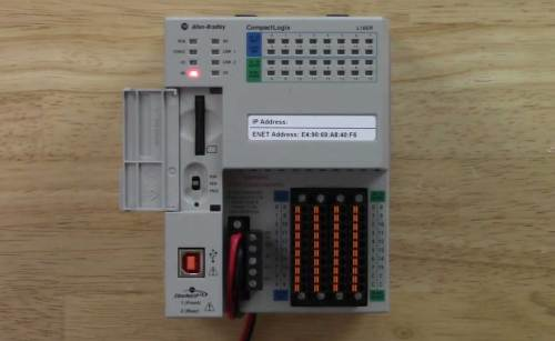 RSLinx to CompactLogix via USB 1 L16