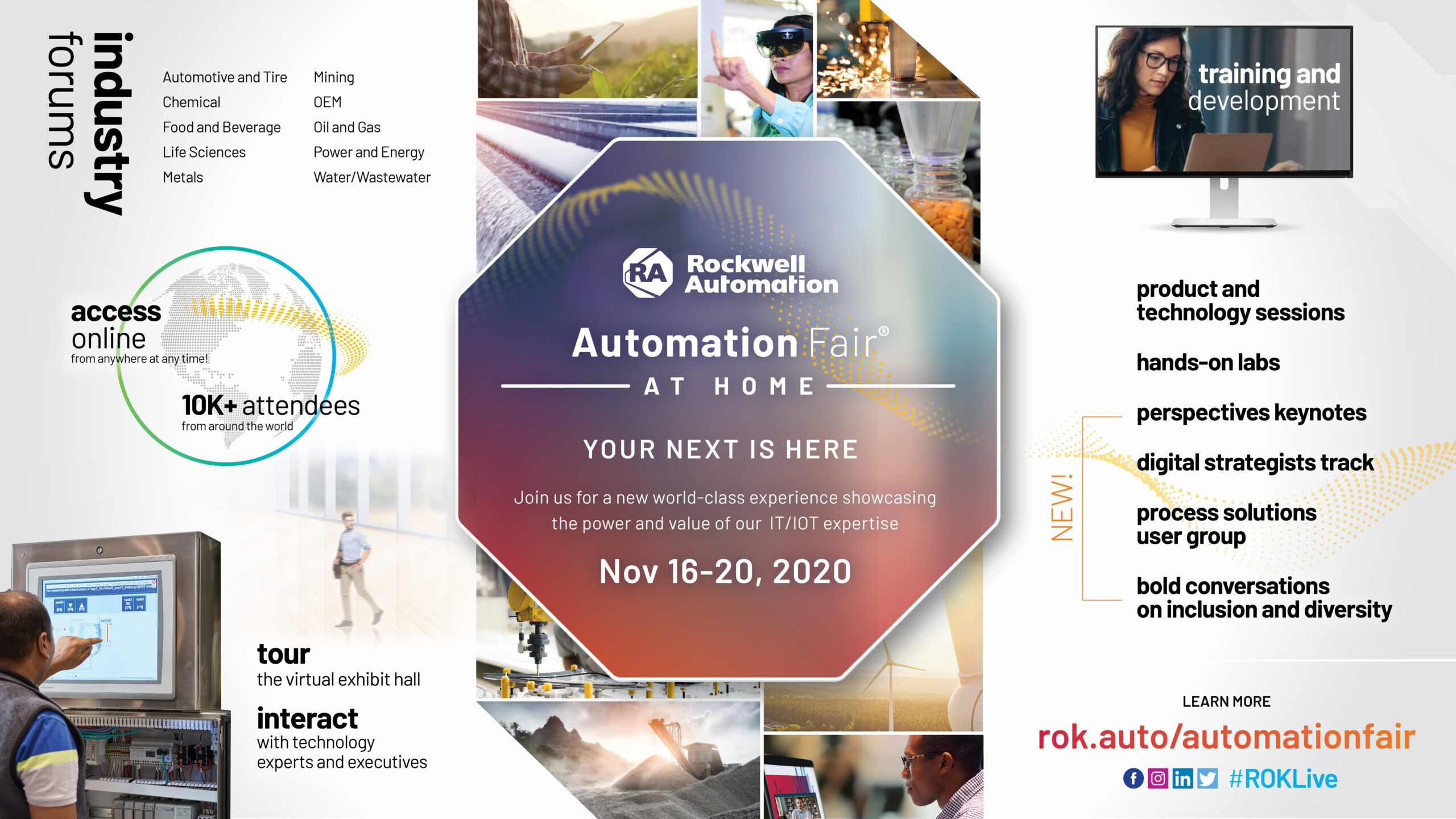 Automation Fair At Home Rockwell S Plans For This Year S Show P62 The Automation Blog