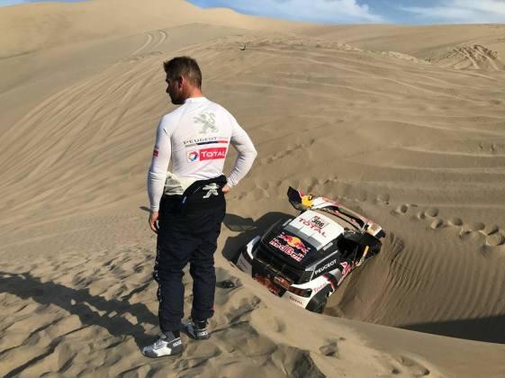 Loeb et Elena abandonnent dans le Dakar 2018.2