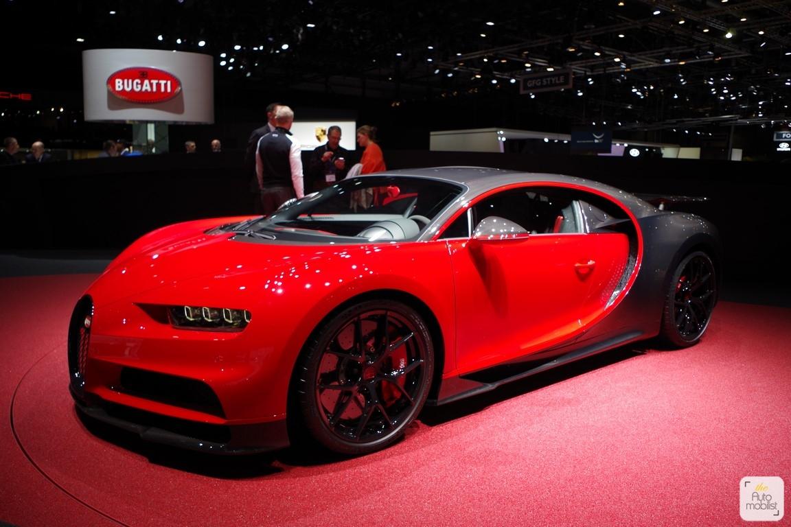 bugatti chiron sport salon de gen ve 2018 9 the automobilist. Black Bedroom Furniture Sets. Home Design Ideas