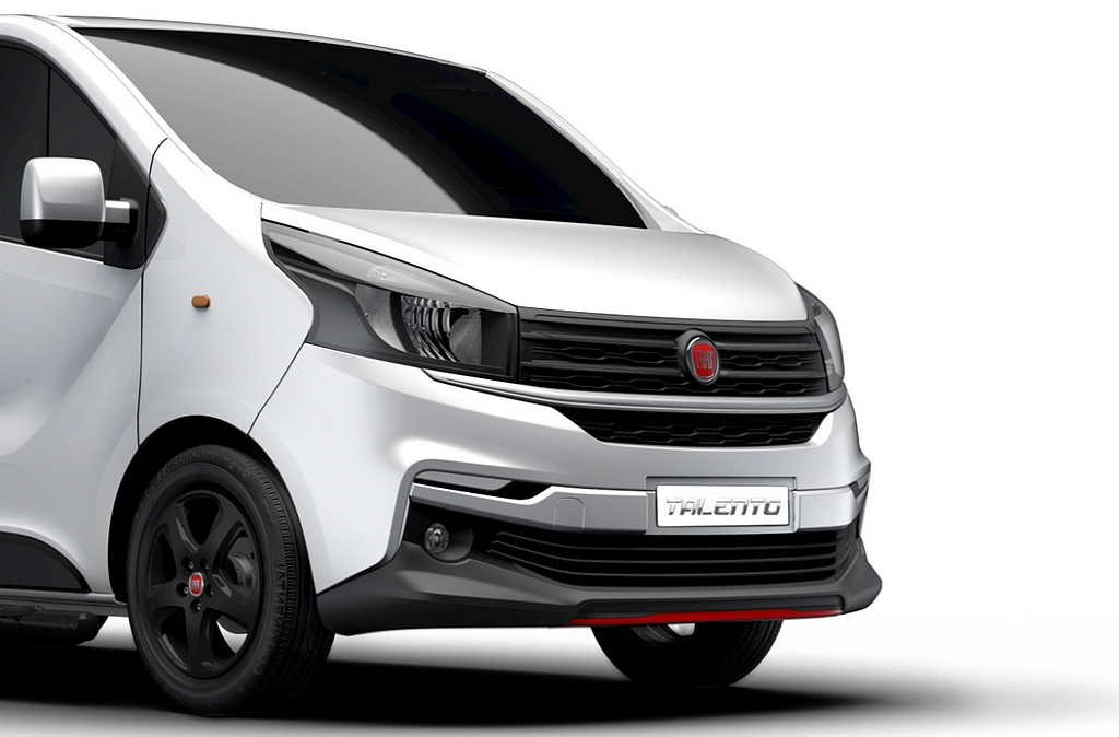 fiat talento sportivo un zeste de sportivit pour le van. Black Bedroom Furniture Sets. Home Design Ideas